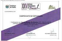 XXI Prêmio Moutonnée de Poesias